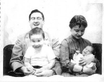 Naomi Morris & her family